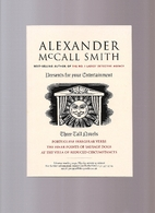 Three Tall Novels by Alexander McCall Smith