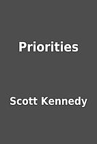 Priorities by Scott Kennedy