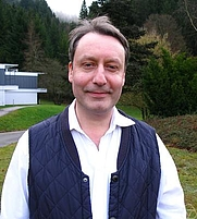 Author photo. Keith Ball. Photo by Renate Schmid.