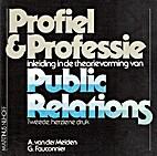 Profiel & Professie. Inleiding in de…