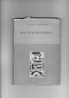Recordatorio by Eladio Cabañero