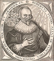 Author photo. Robert Fludd (1574–1637), English physicist, astrologer, and mystic. (Wikipedia Commons)