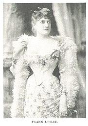 Author photo. Miriam Florence Folline (Mrs. Frank) Leslie (b.1851), Buffalo Electrotype and Engraving Co., Buffalo, N.Y.