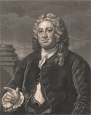 Author photo. Martin Folkes, painted & etched by William Hogarth. Wikimedia Commons.
