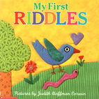 My First Riddles by Judith Hoffman Corwin
