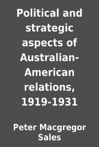 Political and strategic aspects of…