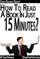 Speed Reading: How To Read A Book in 15…