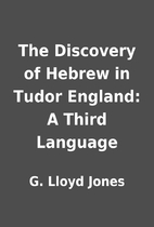 The Discovery of Hebrew in Tudor England: A…