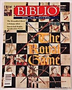 Biblio Magazine - May 1998. Volume 3, Number…