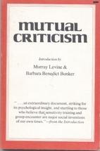 Mutual criticism by John H. Noyes