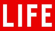 Author photo. Life magazine logo