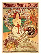 Alphonse Mucha by Sandra Forty