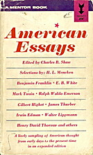American Essays by Charles B. Shaw