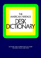 The American Heritage Desk Dictionary by…