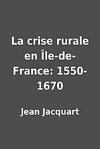 La crise rurale en Île-de-France:…