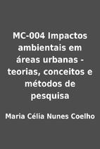 MC-004 Impactos ambientais em áreas urbanas…