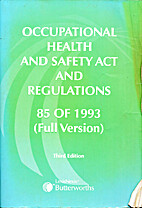 Occupational Health and Safety Act and…