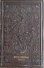 Wilhem Gronau's Buchdruckerei und…