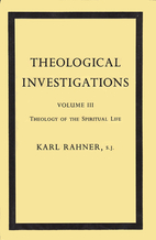 Theological Investigations, Vol. 3: Theology…