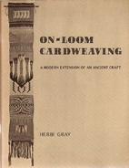 On-Loom Cardweaving: A Modern Extension of…