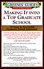 Making It Into a Top Graduate School by…