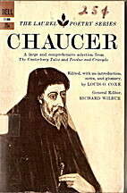 The Laurel poetry series by Geoffrey Chaucer