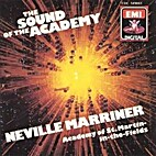 The Sound of the Academy - Neville Marriner…