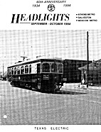 Headlights, volume 56, n° 9-10,…