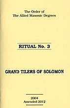Ritual No 3 - Grand Tilers Of Solomon by…