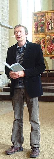 Author photo. Photo credit: Ave Maria Mõistlik