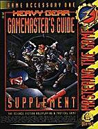 Heavy Gear Gamemaster's Guide:…