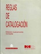Reglas de catalogación by Ministerio de…