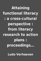 Attaining functional literacy : a…