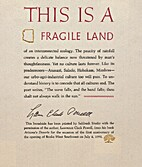 This Is a Fragile Land by Lawrence Clark…