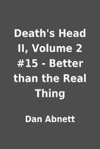 Death's Head II, Volume 2 #15 - Better than…