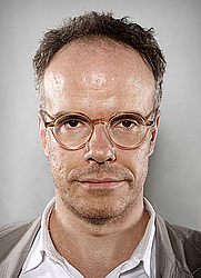 Author photo. Hans-Ulrich Obrist