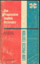 The Progressive English Dictionary by Albert…