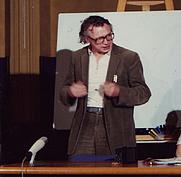 Author photo. Rudolf Bahro in Zürich, 1991 - by Vindheim