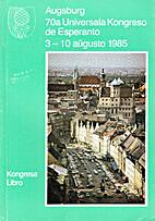 70-a Universala Kongreso de Esperanto,…