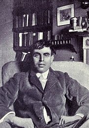 Author photo. Image from <i><a href=&quot;http://www.archive.org/details/jameselroyflecke00golduoft&quot;>James Elroy Flecker; an appreciation with some biographical notes</a></i> (1922) at the <a href=&quot;http://www.archive.org&quot;>Internet Archive</a>