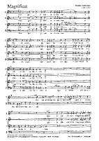 Magnificat : koorpartituur = choralpart by…