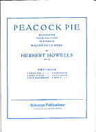 Peacock pie : settings for voice and piano…