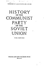 History of the Communist Party of the Soviet…