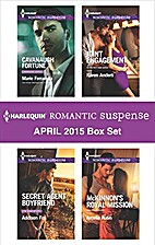 Harlequin Romantic Suspense April 2015 Box…