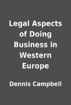Legal Aspects of Doing Business in Western…