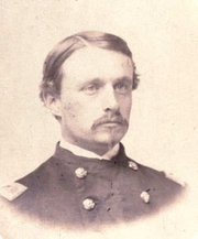 Author photo. Robert Gould Shaw. Frontispiece from Memorial R.G.S. [Robert Gould Shaw] (1864)