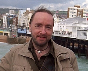 Author photo. Andy West (Brighton in background)