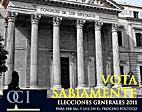 Vota Sabiamente, Elecciones Generales 2008:…