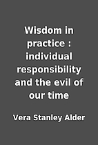 Wisdom in practice : individual…