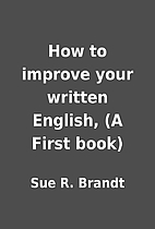 How to improve your written English, (A…